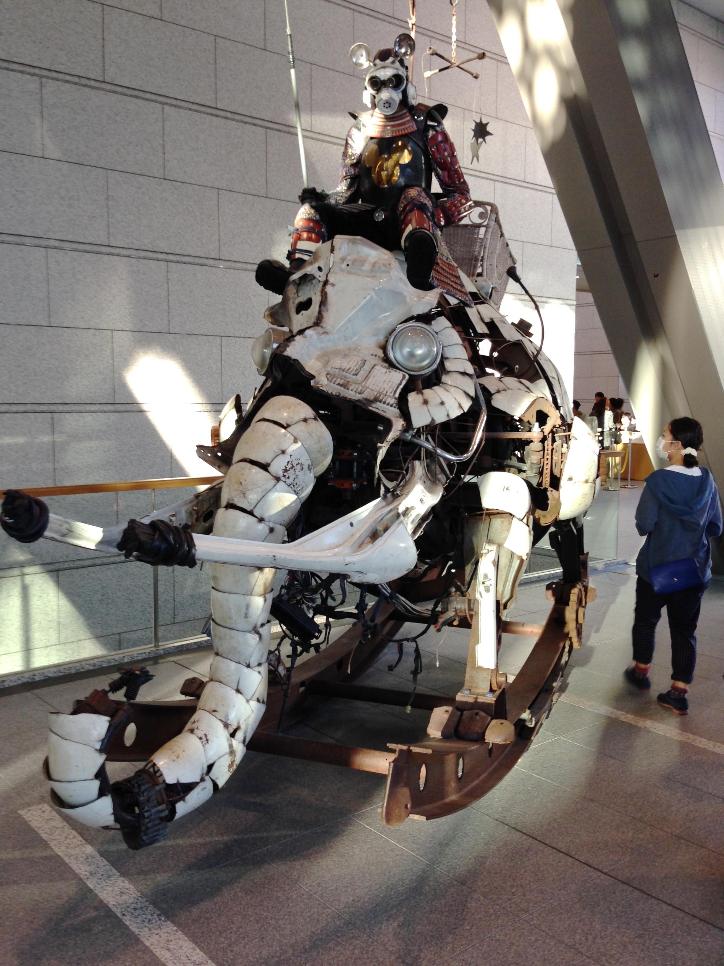 Steampunk Battle Elephant Isaac Keyet