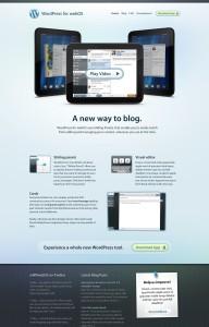 WordPress Mobile Apps Websites - WebOS