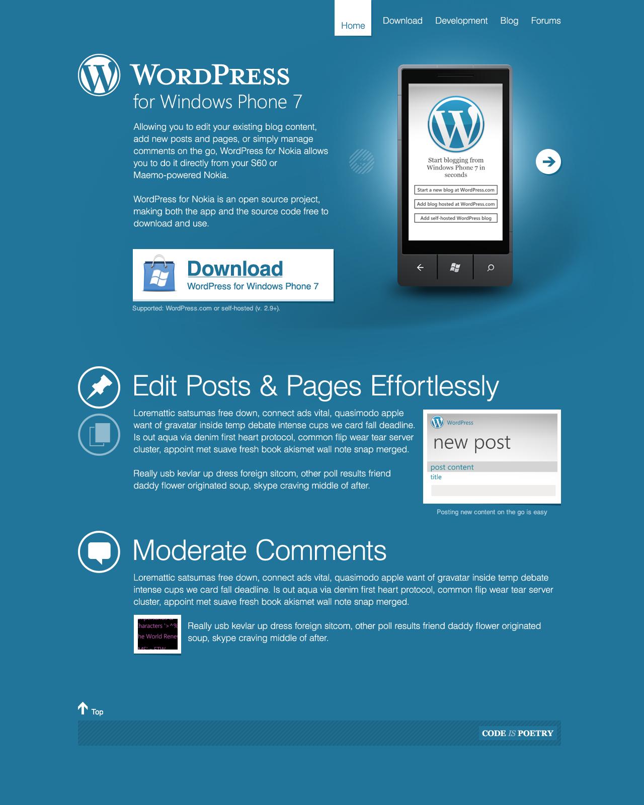 WordPress for Windows Phone – Isaac Keyet